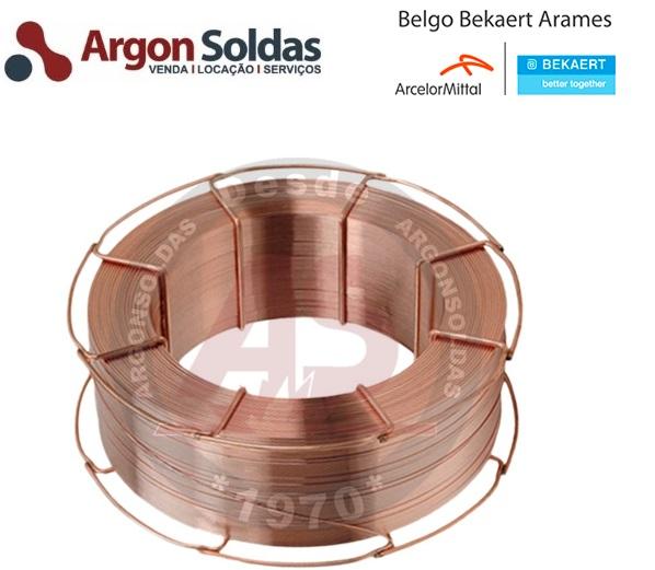 ARAME MIG ER70S-6 1,2MM BELGO 18KG