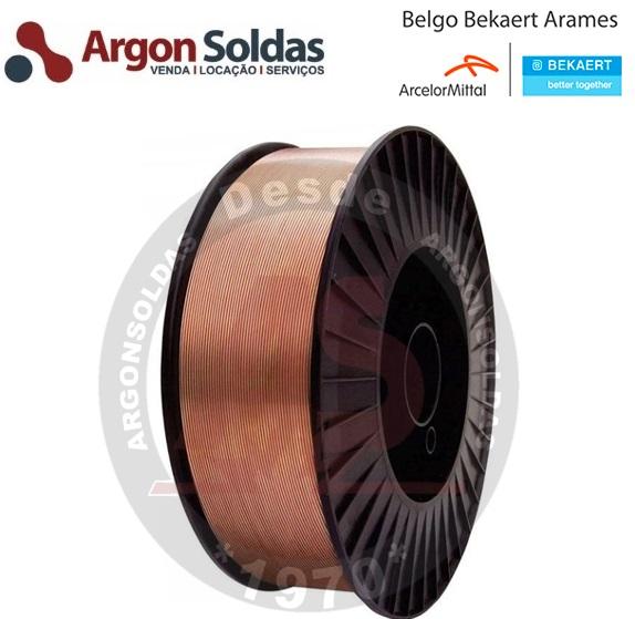 ARAME MIG ER70S-6 0,8MM BELGO 15KG