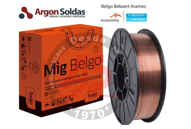 ARAME MIG ER70S-6 0,9MM BELGO (15KGS)