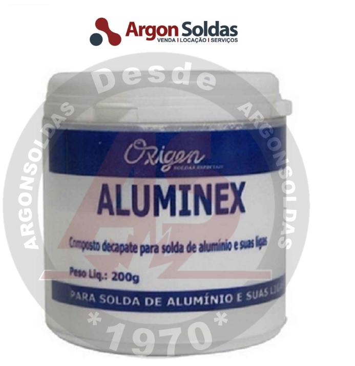 FLUXO TIPO ALUMINEX 200GR OXIGEN (NR80 ONU1759 SOLIDO CORROSIVO EMB IIII)