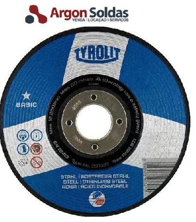 DISCO DESBASTE 27C 115X6X22,23 A30QBF TYROLIT BASIC