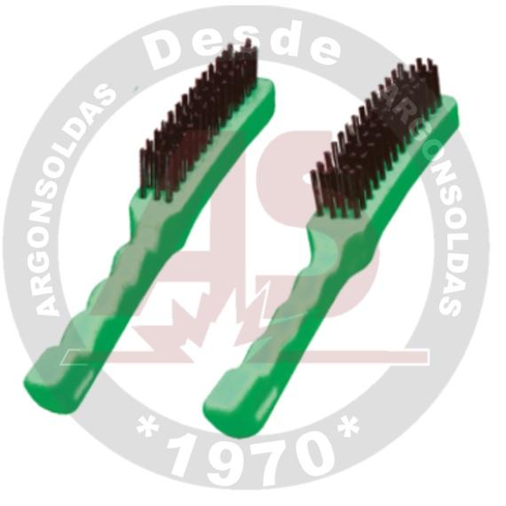 ESCOVA CABO PLAST. 3 CARREIRAS CARBOGRAFITE (012326812)